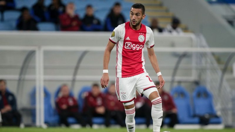Chelsea Ajax have verbal agreement over €45m Ziyech transfer