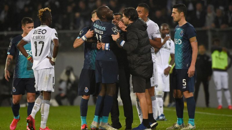 Porto player Moussa Marega leaves pitch amid racist incident