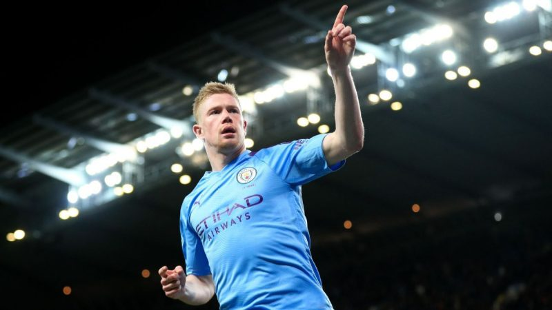 Man City's De Bruyne gets 8/10, wasteful Jesus 5/10 in win over West Ham