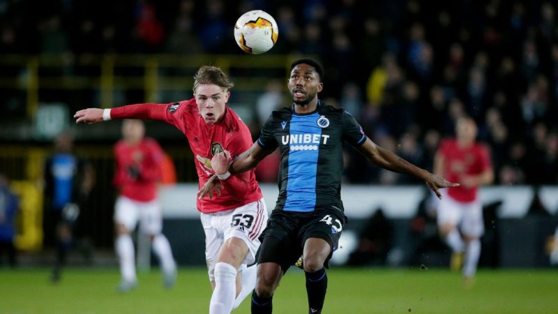 Solskjaer blames ball for Manchester United's draw at Club Brugge