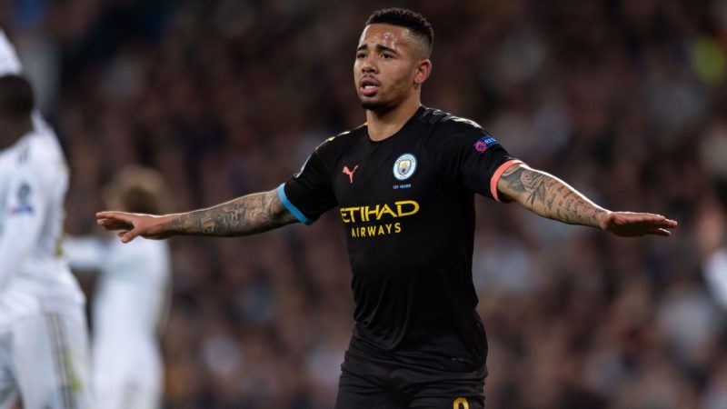 Real Madrid bemoan Gabriel Jesus 'push' in loss to Manchester City