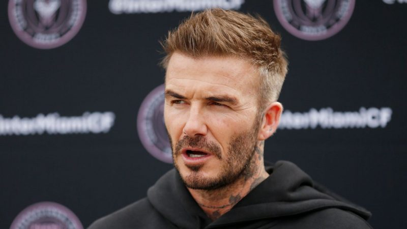 Beckham would love Messi Ronaldo at new MLS side Inter Miami
