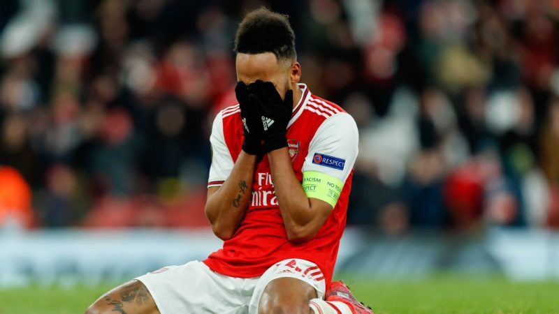 Aubameyang on missed chance in Arsenal loss