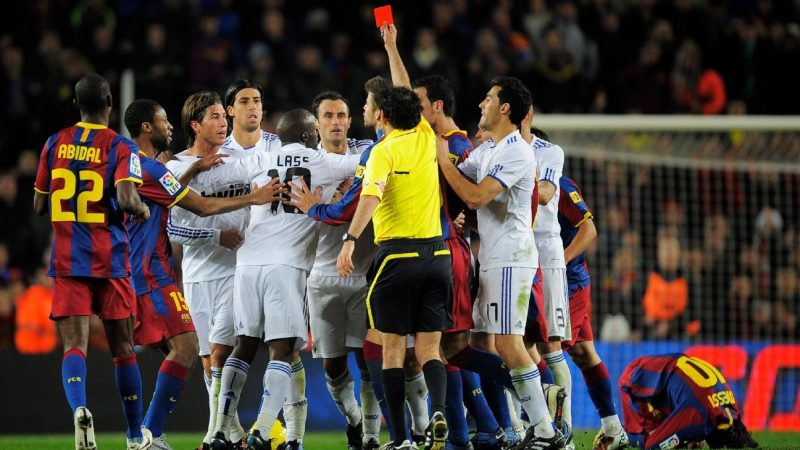 Real Madrid vs. Barcelona is always intense. But what's it like for the referee in the Clasico?