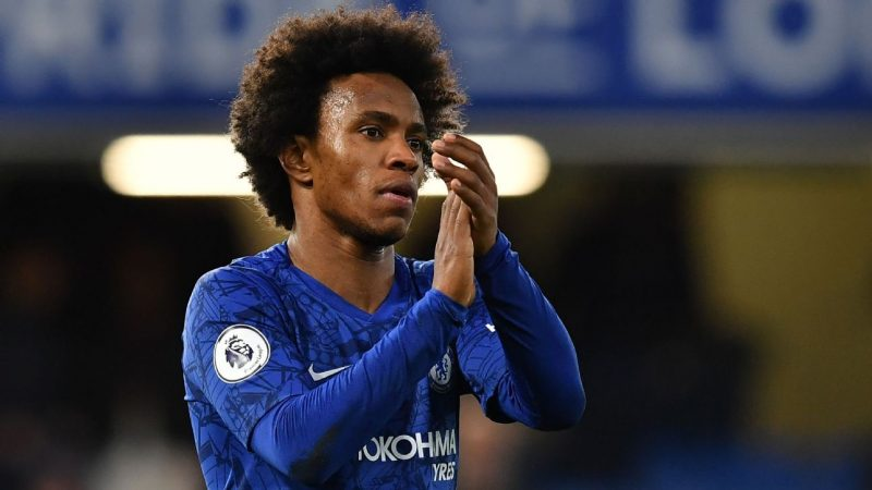 Transfer Talk Atletico Madrid monitor Willian in hopes of securing a summer free transfer