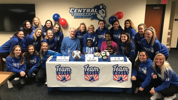 Women's Soccer Announces Signing of Naimah Dieme Through Team Impact