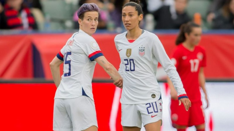How USWNT's event this week is protecting against coronavirus, from fist bumps to health assessments : WomensSoccer