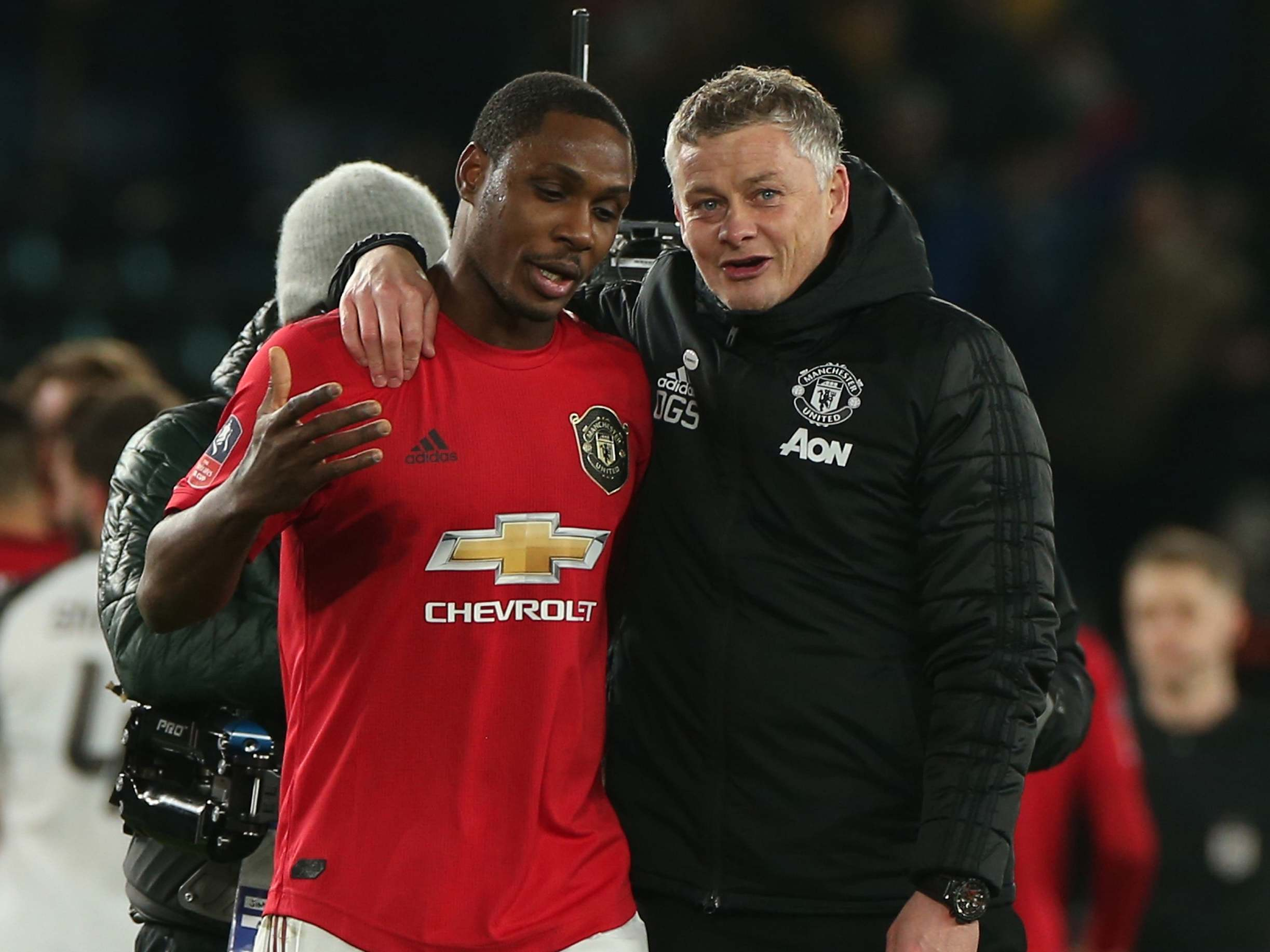 Derby vs Man United: Solskjaer praises 'happy' Ighalo after FA Cup brace