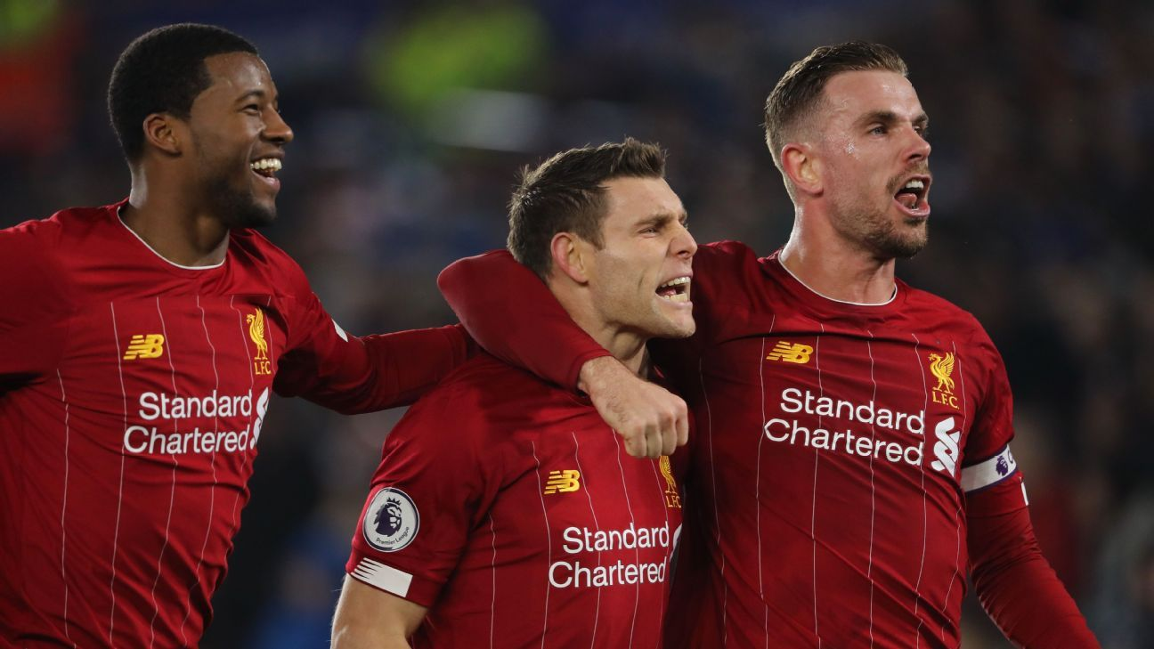 Liverpool's weird midfield has been key to their remarkable Premier League season