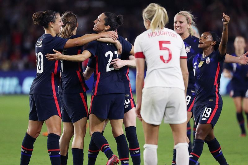 United States vs. England – Football Match Report – March 6, 2020