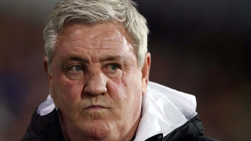 Steve Bruce rages at Daily Mail reporter over Allan Saint-Maximin 'dropped' story after Newcastle win