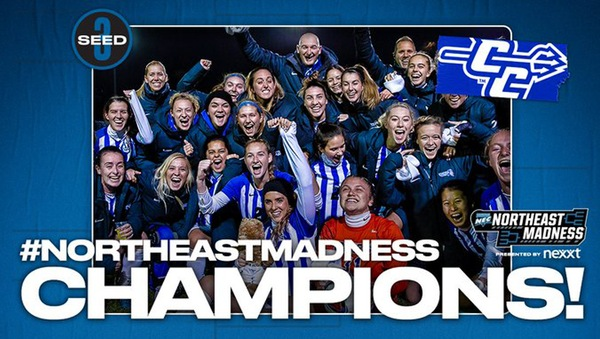 Women's Soccer Crowned #NortheastMadness Champions