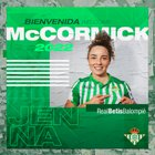 Australian defender Jenna McCormick has signed for Real Betis! : WomensSoccer