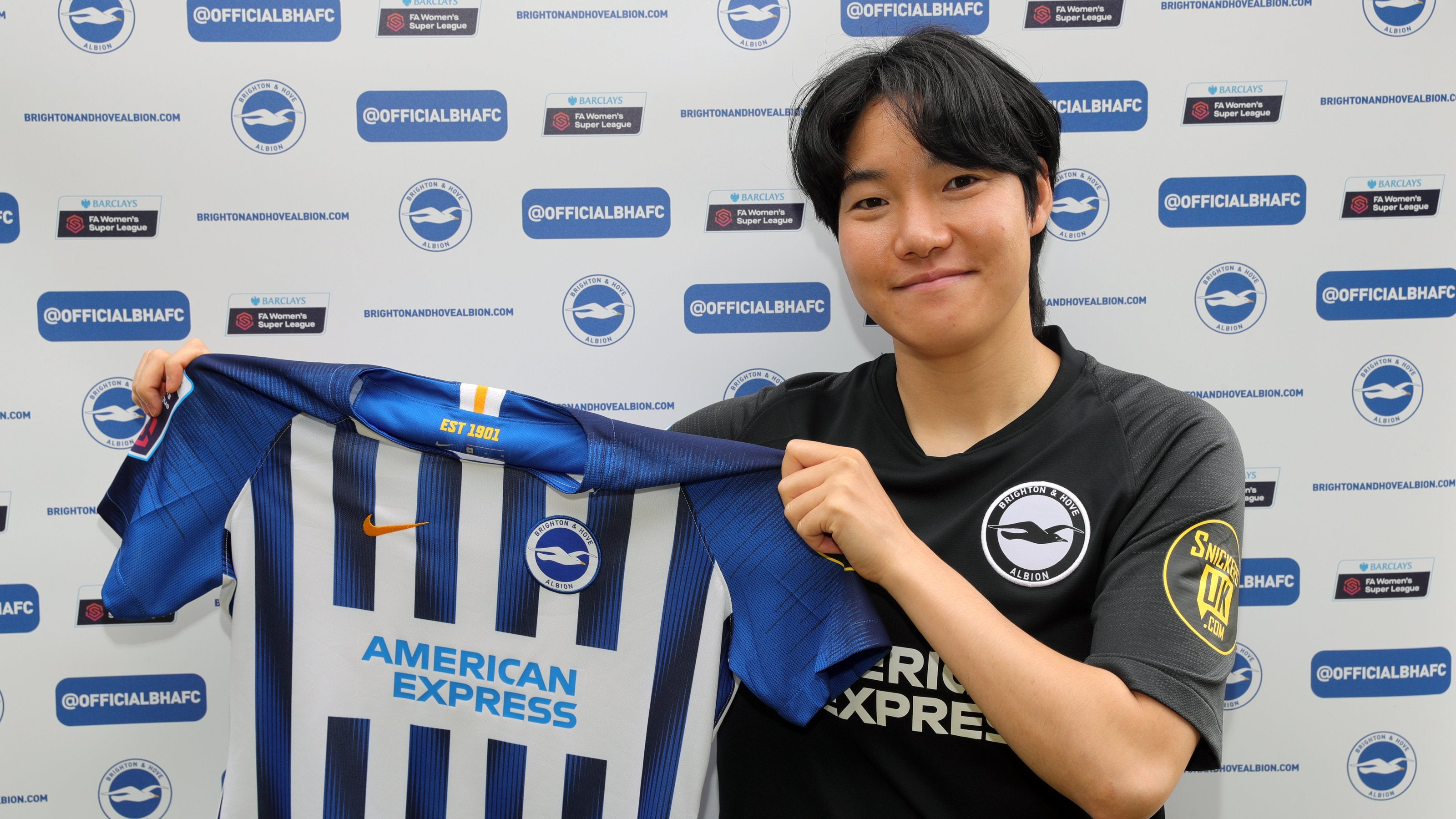 South Korea international Lee Geum-min joins Brighton and Hove Albion on a season-long loan from Man City : WomensSoccer
