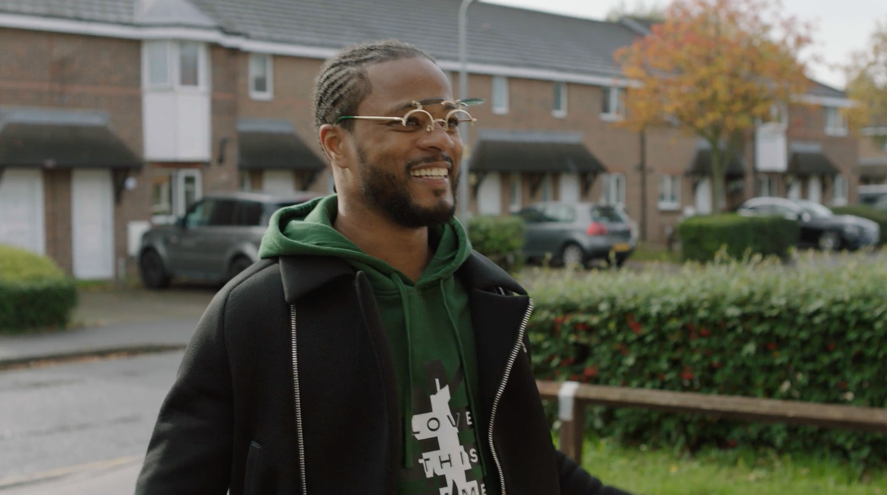 FOOTBALL LEGEND PATRICE EVRA SURPRISES DESERVING YOUNG CARER WITH A DAY TO REMEMBER IN NEW CHRISTMAS FILM