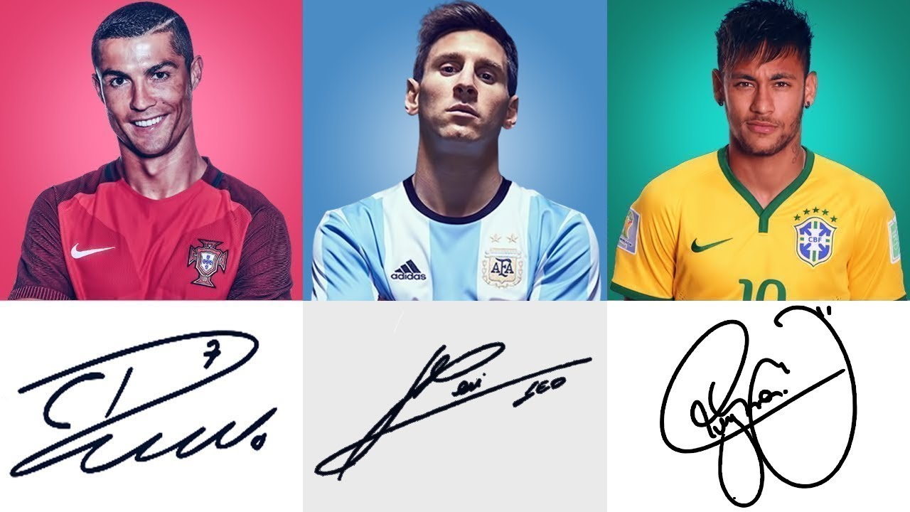 Messi, Beckham or Aubameyang? THIS Footballer's Signature is the Most Valuable