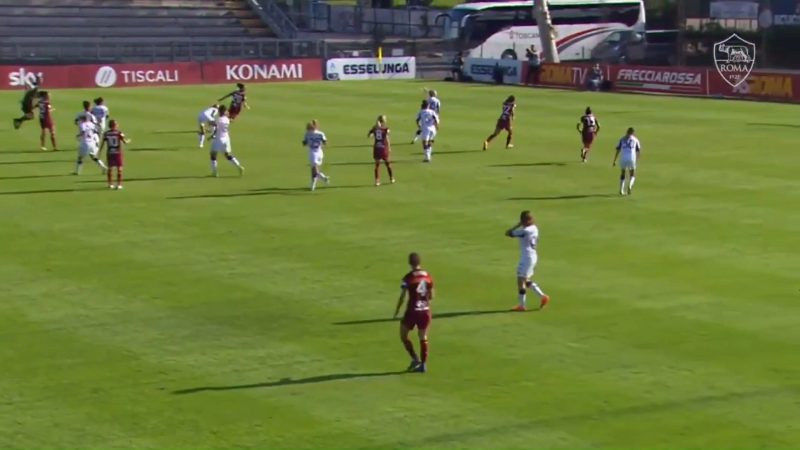 Annamaria Serturini 30-yarder for AS Roma on the weekend : WomensSoccer