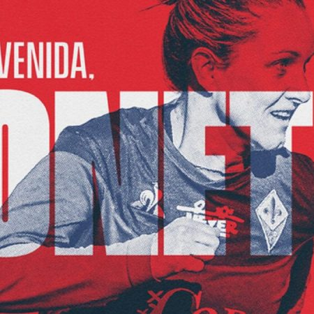 Atletico Women strengthens attack by signing Tatiana Bonetti. The Italian forward signs until 30 June 2023. Tatiana joined Fiorentina from Verona for the 2016/17 season, and her 21 goals went a long way to helping the club claim their first ever Serie A title : WomensSoccer