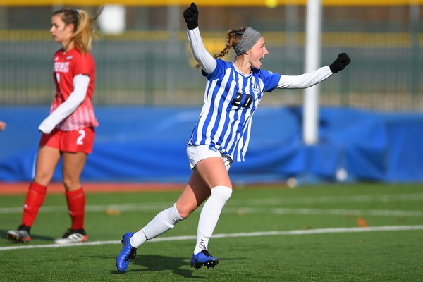 Blue Devils Shutout Sacred Heart on Tuesday