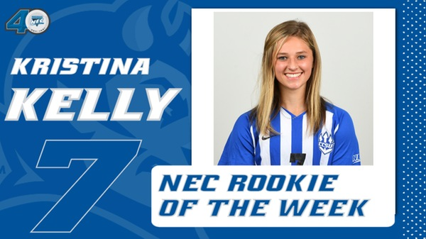 Kristina Kelly Picks Up NEC Rookie of the Week
