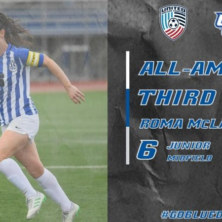 Roma McLaughlin Named to Women's Soccer All-America Team in Back to Back Seasons