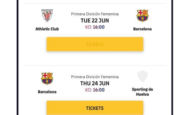 FC Barcelona Femení have 4 games within 7 days? : WomensSoccer