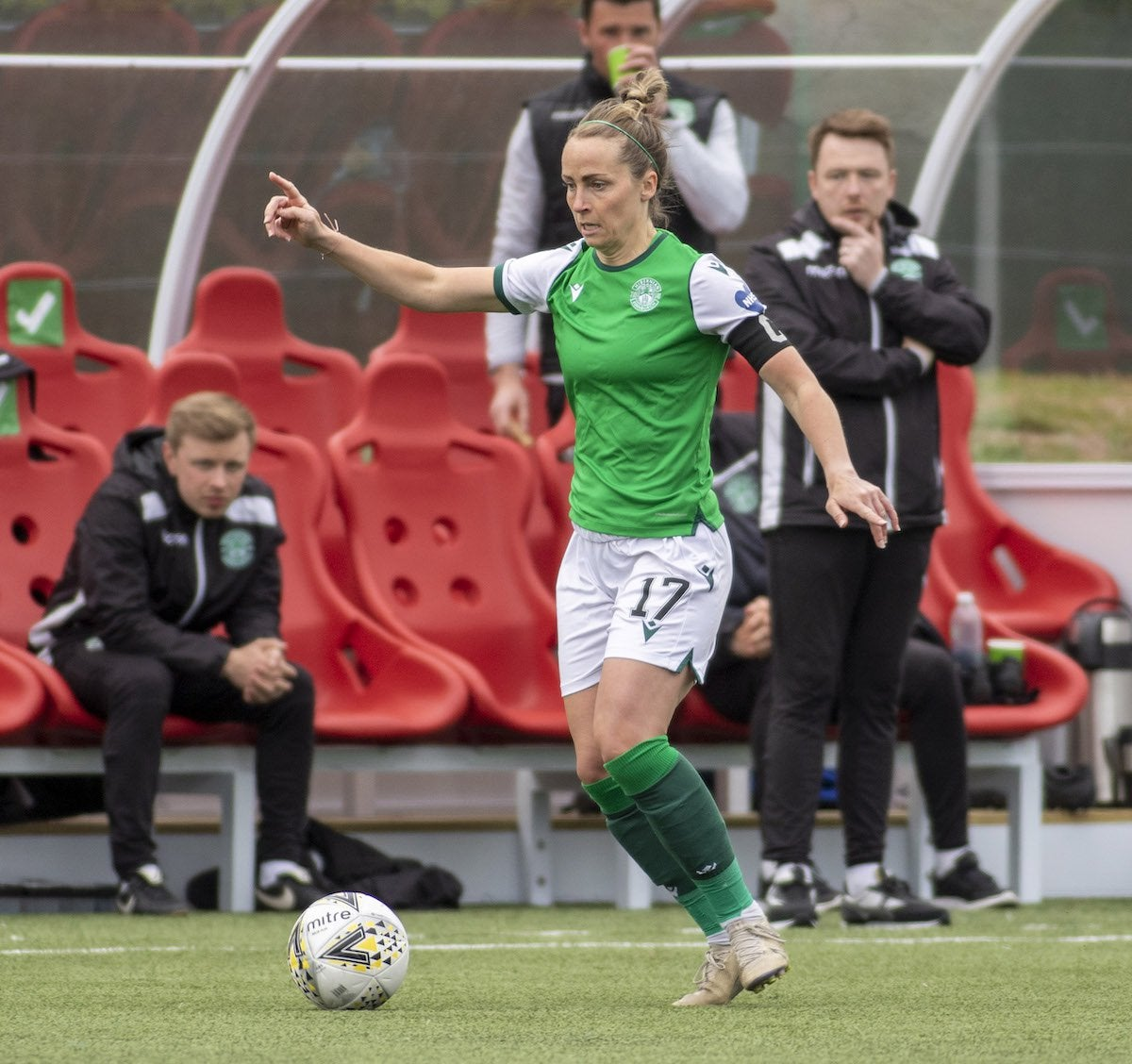 Hibernian will make history this weekend when their end of season SWPL clash with Forfar Farmington FC becomes the first ever football match to be streamed live on pioneering sports platform Recast : WomensSoccer