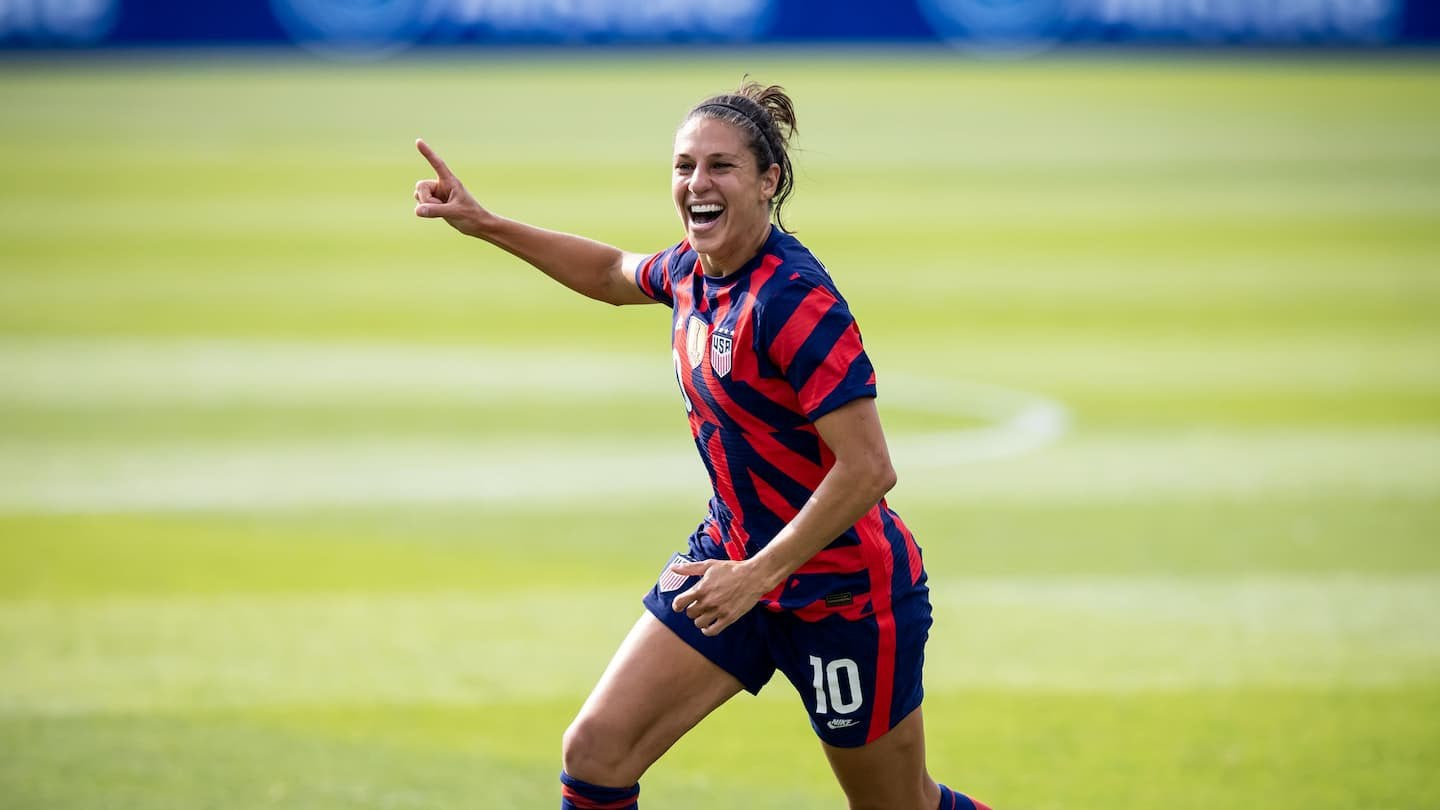 Carli Lloyd was estranged from her family for 12 years. A lost year reunited them