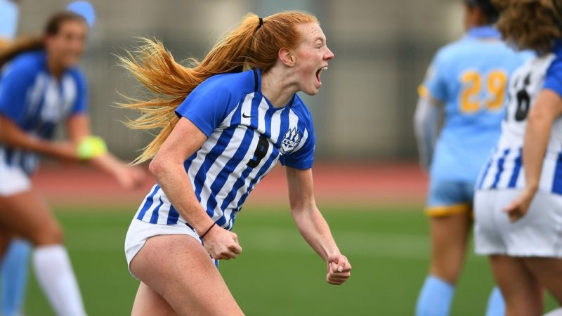 Women's Soccer Wins Home Opener in Dramatic Fashion