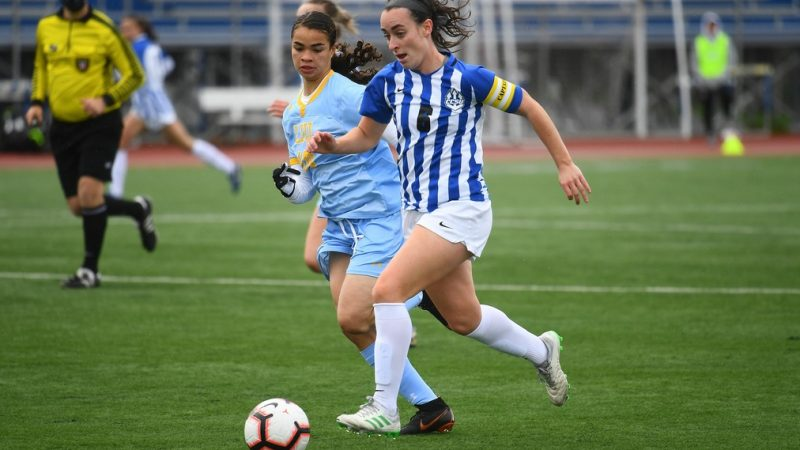 Women's Soccer Loses in Final Minutes at UConn