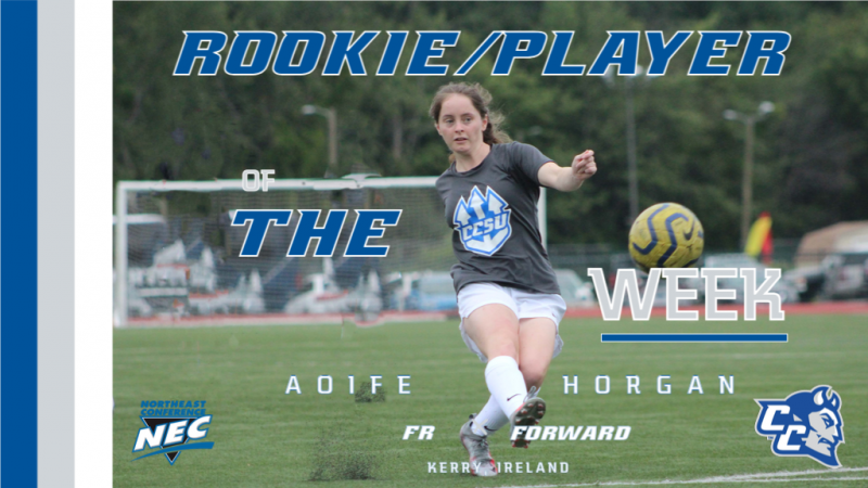 Aoife Horgan Wins Rookie and Player of the Week