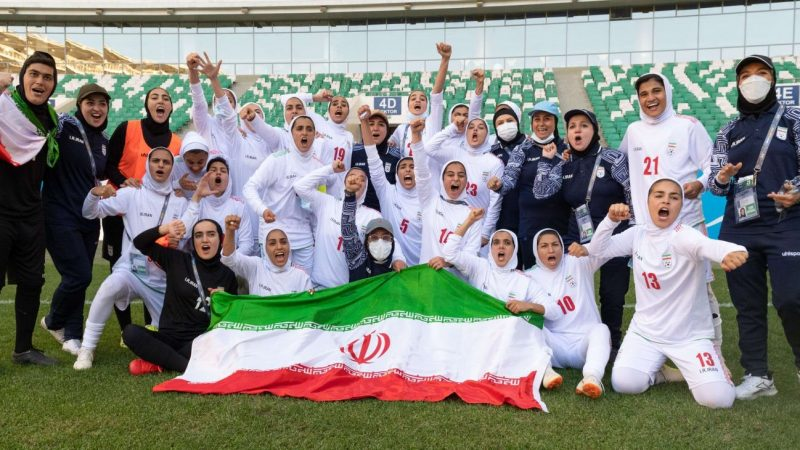 Iran qualify for their first ever Asian Cup : WomensSoccer